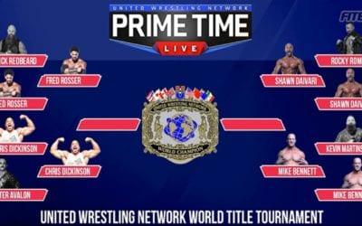 Resultados de United Wrestling Network Prime Time Live en Long Beach (03/11/2020)