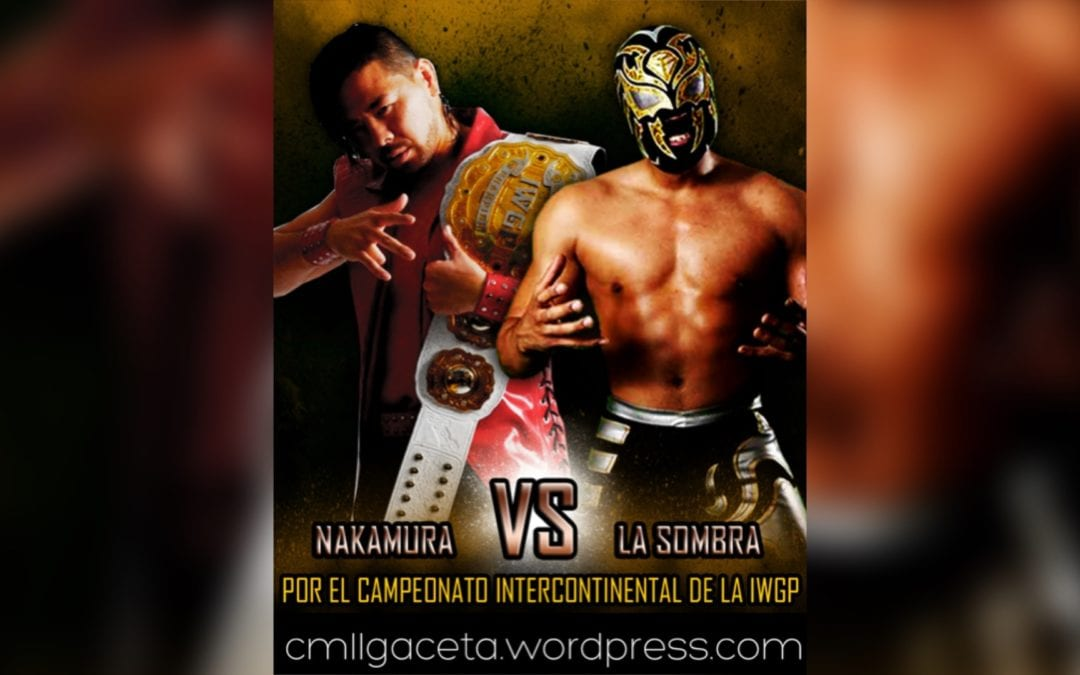 Match of the Day: La Sombra Vs. Shinsuke Nakamura (2012)