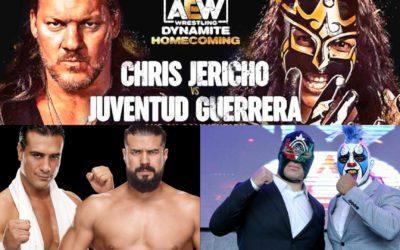 Ráfaga Luchística: Alberto el Patrón Vs. Andrade, Chris Jericho Vs. Juventud Guerrera en AEW, ¿Regresa Caín Velásquez a Lucha Libre AAA?, y más
