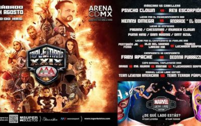 Lucha Libre AAA Triplemania XXIX: How to watch, star times and card