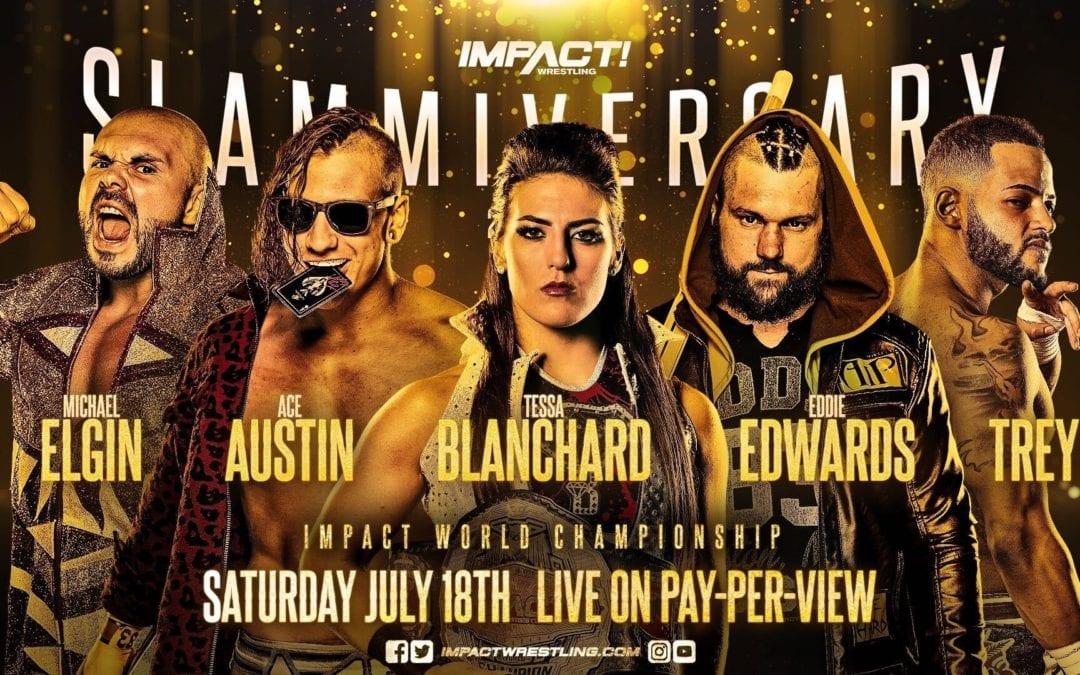 Tessa Blanchard will defend the IMPACT Wrestling World Championship at Slammiversary
