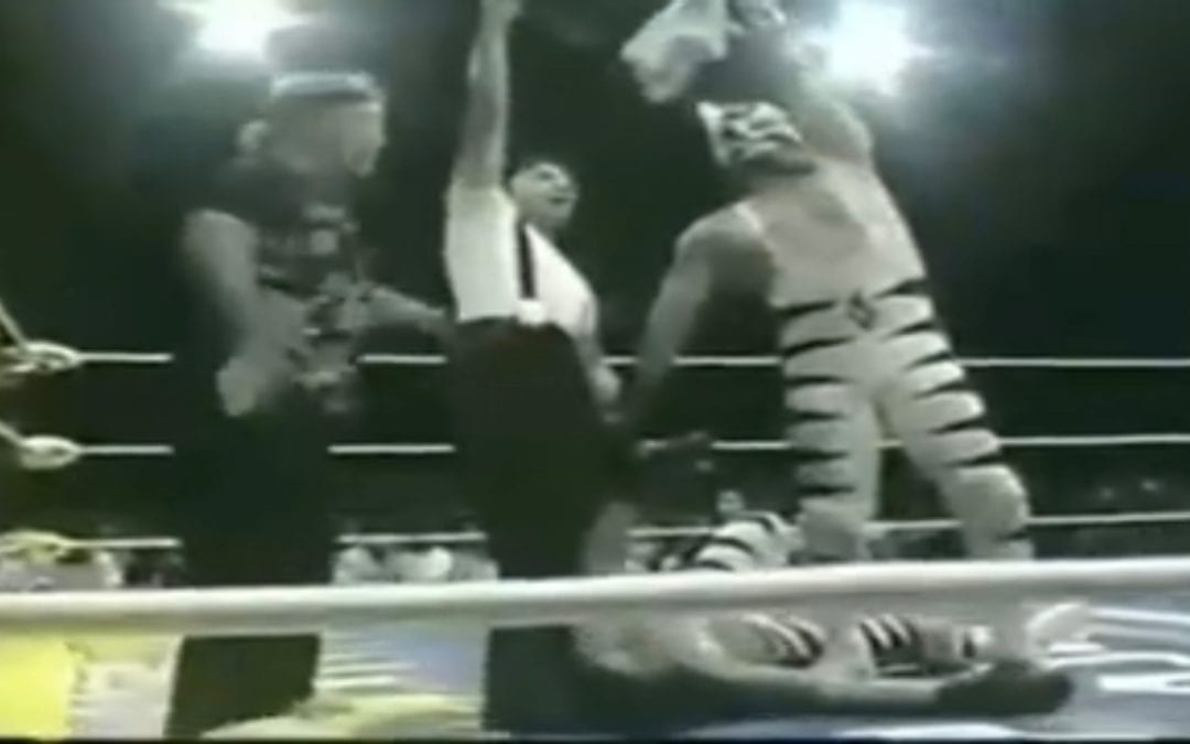 Match of the Day: El Felino & Heavy Metal Vs. Kick Boxer & Thai Boxer (1999)