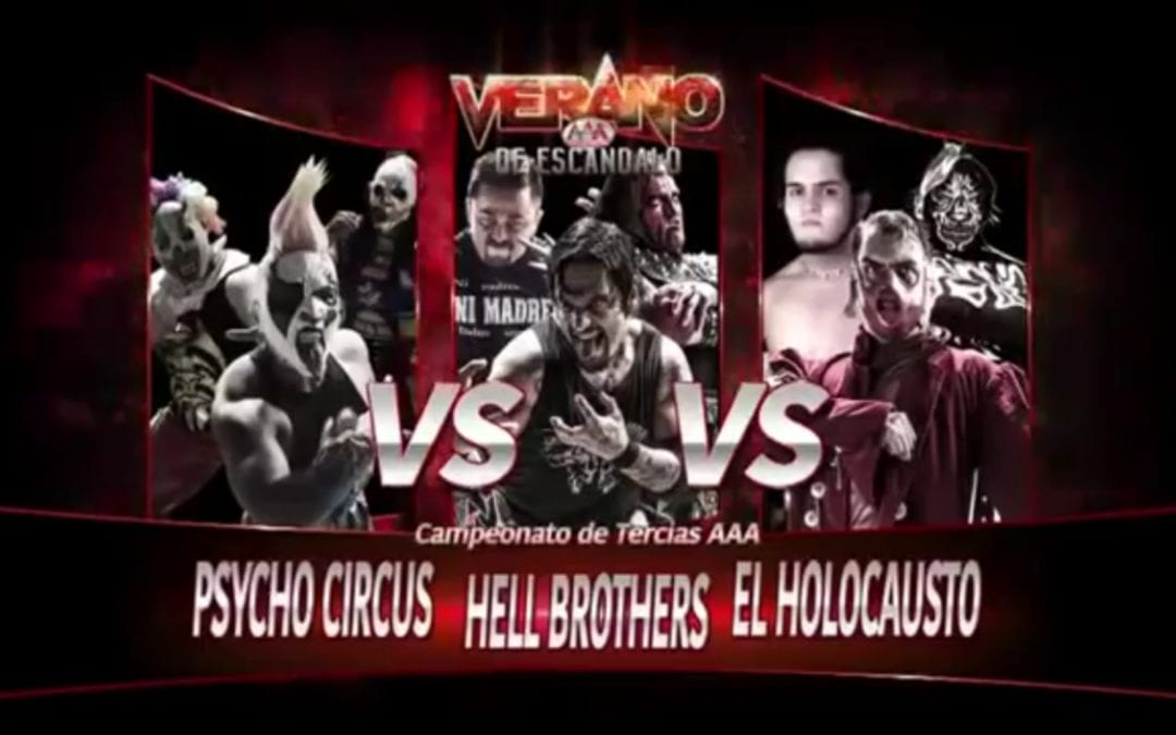 Match of the Day: Los Psycho Circus Vs. Hell Brothers Vs. Holocausto (2015)