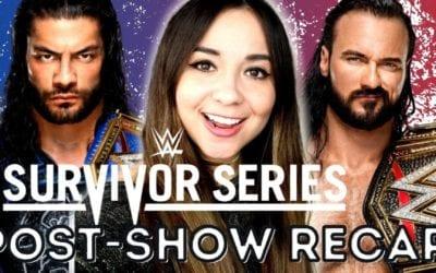 LIVE: WWE Survivor Series 2020 Post-Show Review