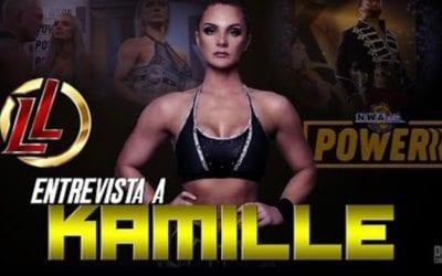 Kamille tiene grandes proyectos con la NWA