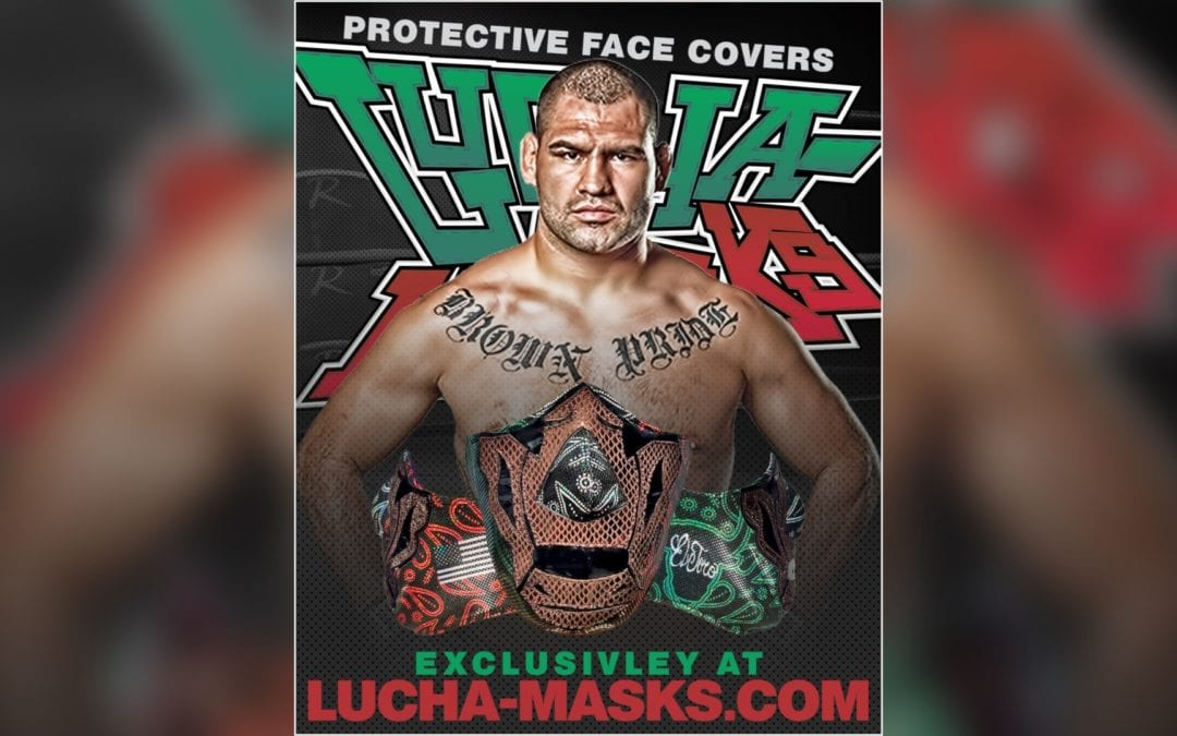 Cain Velasquez joins Lucha Masks with Triplemania debut mask for charity