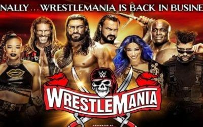 Cartelera y horarios de WrestleMania 37 para Latino América