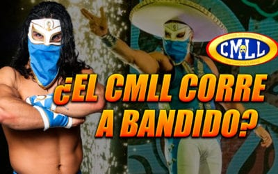 CMLL anuncia la salida de Bandido de la empresa