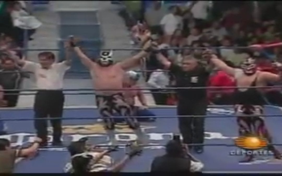 Match of the Day: Atlantis & Blue Panther Vs. Averno & Mephisto (2005)