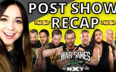 LIVE: WWE NXT TakeOver: WarGames 2020 Post-Show Review