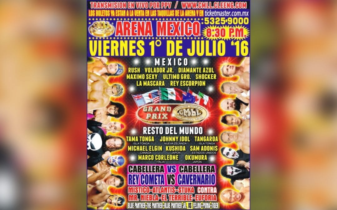Match of the Day: CMLL International Grand Prix (2016)