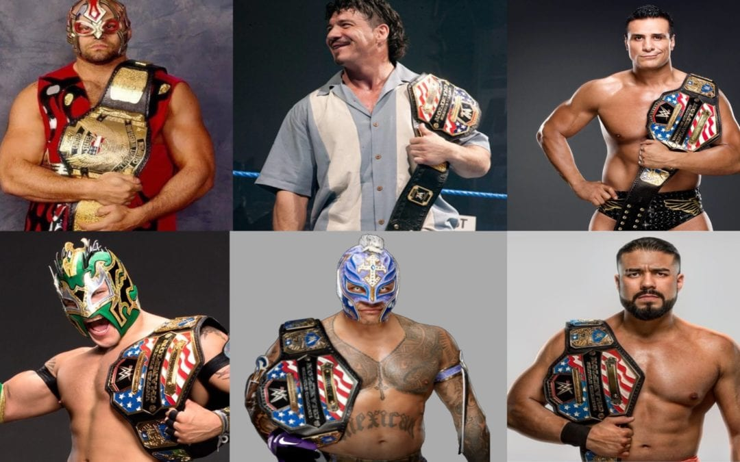 Six luchadores who have been United States Champions