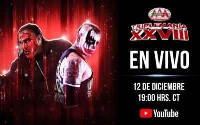 LIVE: Triplemania XXVIII at Arena Ciudad de Mexico