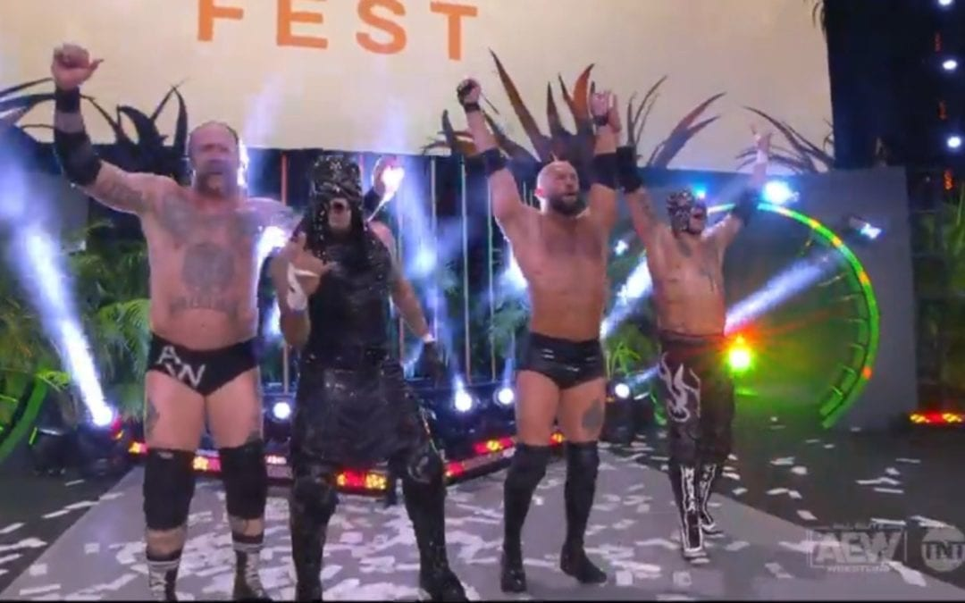 AEW Fyter Fest in Jacksonville Night 2 Results (07/08/2020)