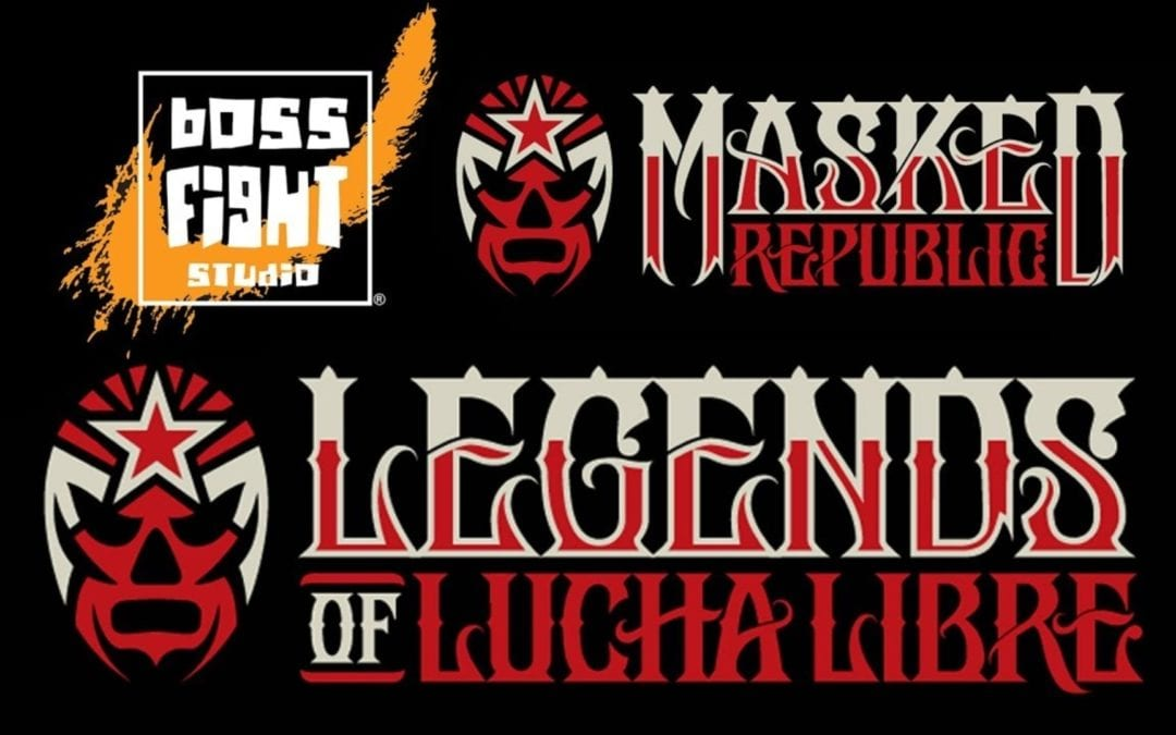 Lots of updates & new art for Masked Republic's Legends of Lucha Libre actions figures and collectibles from Boss Fight Studio
