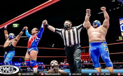 CMLL Family Sunday Live Show at the Arena Mexico Results (09/05/2021)