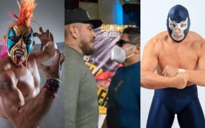 Ráfaga Luchística: Psycho Clown sufre lesión en el ojo, Fresero Jr. Vs. Eterno en IWRG, el regreso de Blue Demon Jr. a la Arena Naucalpan y más