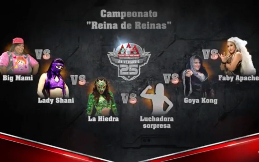 Match: of the Day: Big Mami Vs. Lady Shani Vs. La Hiedra Vs. Sexy Star Vs. Goya Kong Vs. Faby Apache (2017)