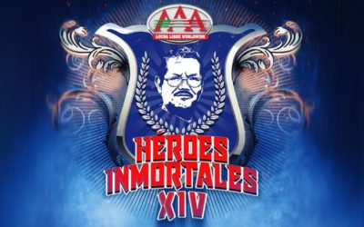 Lucha Libre AAA presents its complete card for Heroes Inmortales XIV