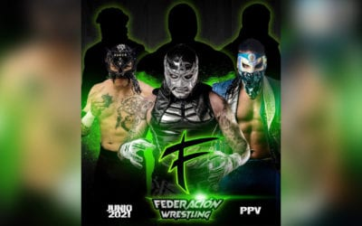 Federacion Wrestling presents the card for its debut show on June 19