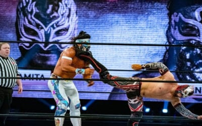 Bandido's painful defeat against Flamita