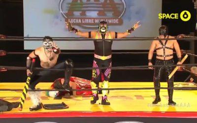 Lucha Libre AAA Lucha Por La Identidad de Mexico in Tehuixtla Results(09/18/2021)