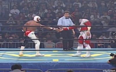 "Match of the Day: Rey Mysterio Vs. Jushin ""Thunder"" Liger (1996)"