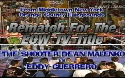 Match of the Day: Eddie Guerrero Vs. Dean Malenko (1995)