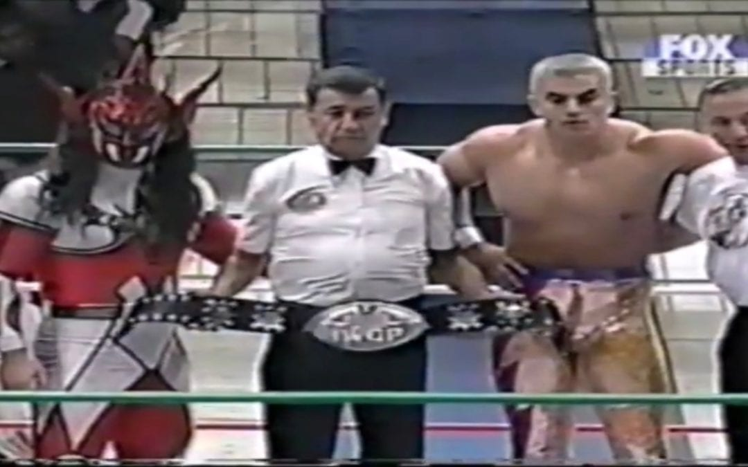 """Match of the Day: Jushin """"Thunder"""" Liger Vs. Shocker (1999)"""