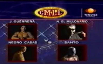 Match of the Day: Hijo del Santo & Negro Casas Vs. Nicho el Millinario & Juventud Guerrera (2001)