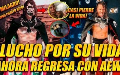 El Cuervo de Puerto Rico debuta en AEW