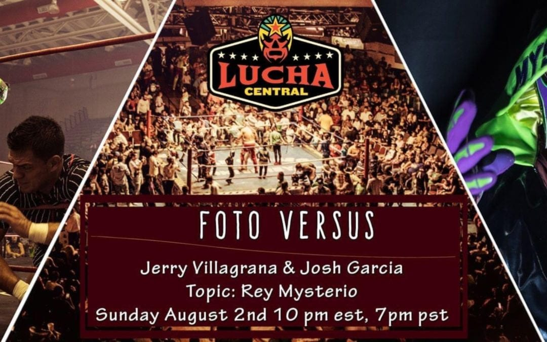 """La nueva serie """"Foto Versus"""" debuta este domingo en vivo a través del fan page de Lucha Central en Facebook"""