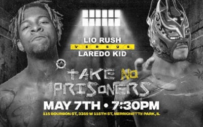 Legends of Lucha Libre's Laredo Kid faced Lio Rush at AAW Take No Prisoners