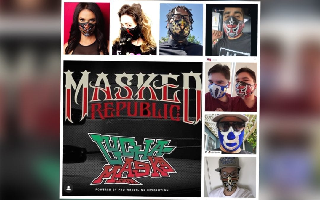 Lucha Central and Lucha-Masks.Com Announce Fan Designed Face Mask Contest