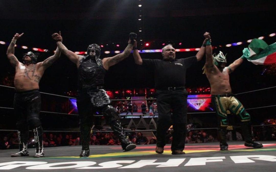 Match of the Day: Pentagon Jr., Rey Fenix & Laredo Kid Vs. The Elite (2019)