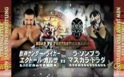 """Match of the Day: La Sombra & Mascara Dorada Vs. Jushin """"Thunder"""" Liger & Hector Garza (2011)"""