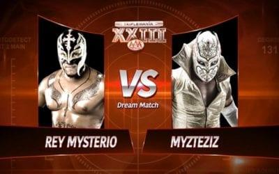 Match of the Day: Rey Mysterio Vs. Myzteziz (2015)