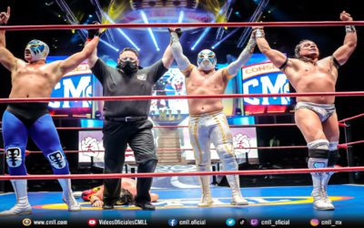 CMLL Spectacular Friday Live Show at the Arena Mexico Results (10/01/2021)