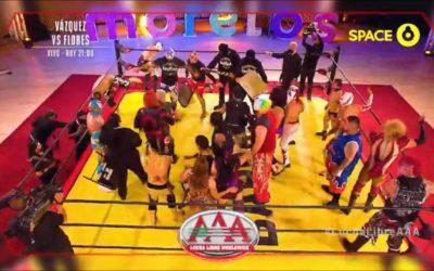 Lucha Libre AAA Lucha Por La Identidad de Mexico in Tehuixtla Review (10/02/2021)