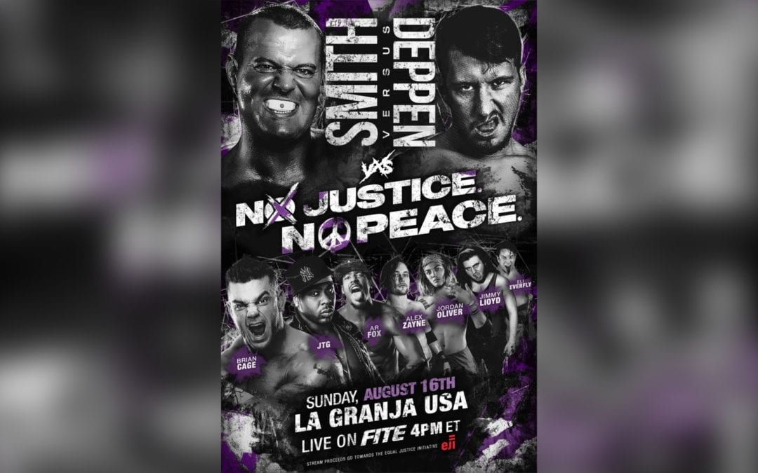 VxS Wrestling presents the biggest independent wresting event of the summer No Justice No Peace