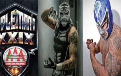 Ráfaga Luchística: Lucha Libre AAA anuncia Triplemanía XXIX, ¿Penta Zero M Vs. Blue Demon Jr., polémica de DMT Azul en la Arena Naucalpan y más