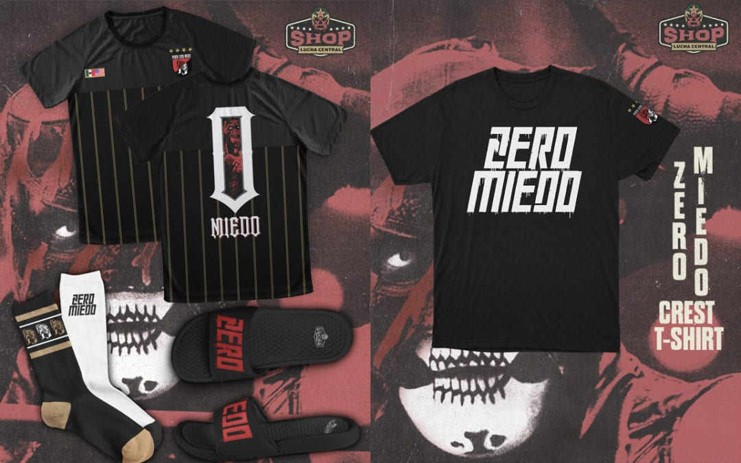 The Lucha Central Shop Is Now Open! Exclusive Penta Zero M Merch Released.
