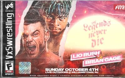 """VxS Wrestling presents """"Legends Never Die"""" this Sunday at New Jersey streaming live on FITE"""