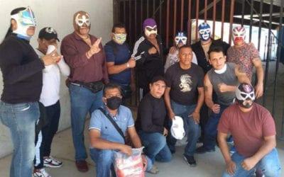 Luchadores reciben apoyo por parte de la Comisión de Lucha Libre de la Ciudad de México