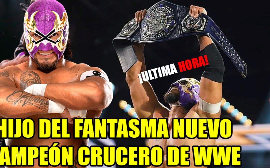 ¡Hijo del Fantama nuevo campeón crucero de NXT!