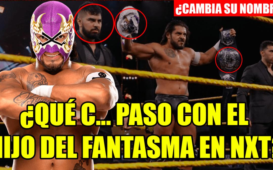 ¿Qué pasó con el Hijo del Fantasma en WWE NXT?