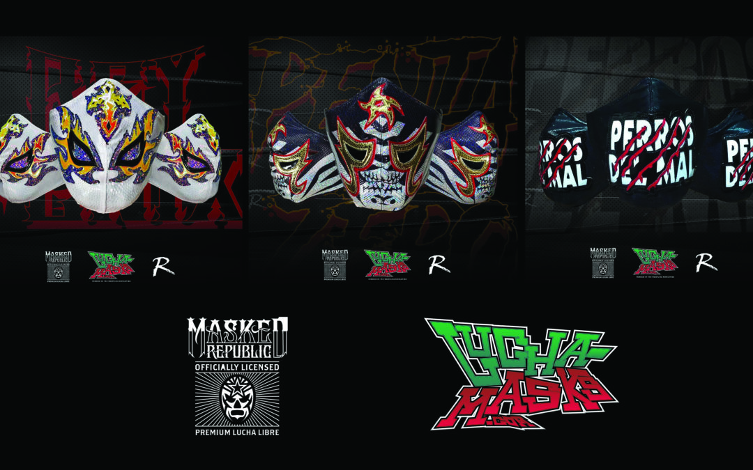 Officially Licensed Protective Masks Of Penta, Fenix, Perros del Mal and More Now Available