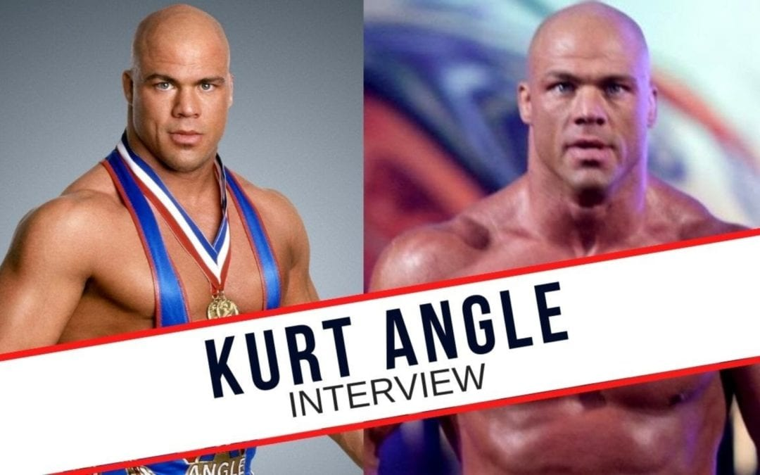 Kurt Angle Talks WWE, Funny Moments, Retirement, Physically Fit & More!