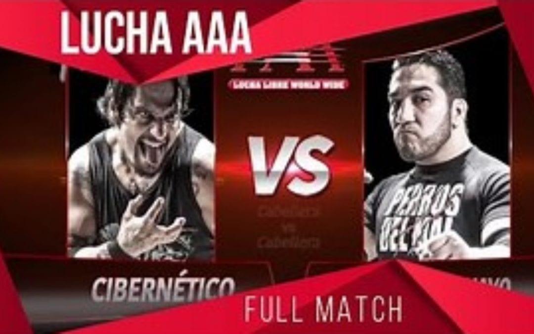 Match of the Day: Hijo del Perro Aguayo Vs. Cibernetico (2013)